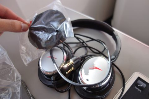 ノイズキャンセリングヘッドフォン/オーストリア航空ビジネスクラス