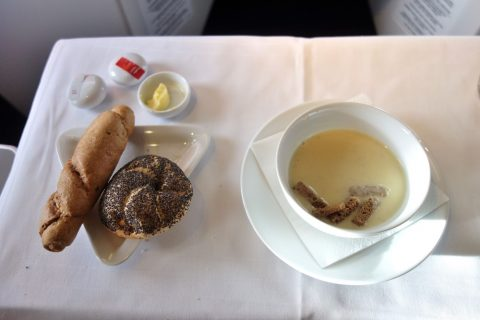 パンとスープ/austrian-airlines-businessclass