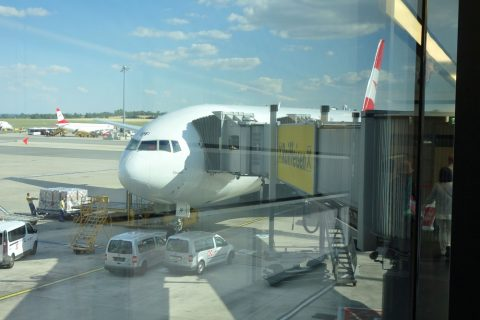 オーストリア航空B777-200
