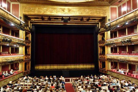 サルスエラ国立劇場の内部
