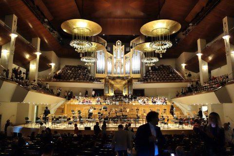 マドリード国立音楽堂シンフォニックホール