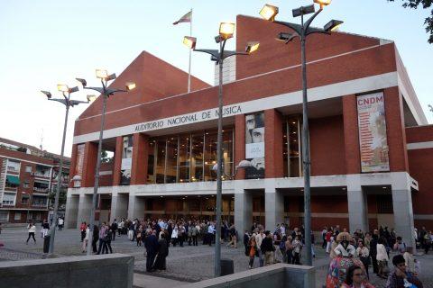 マドリード国立音楽堂の外観