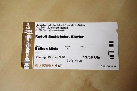 ウィーン楽友協会チケット
