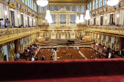 ウィーン楽友協会大ホール客席