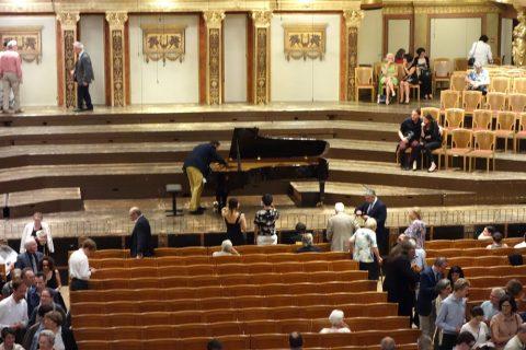 ウィーン楽友協会ピアノコンサート