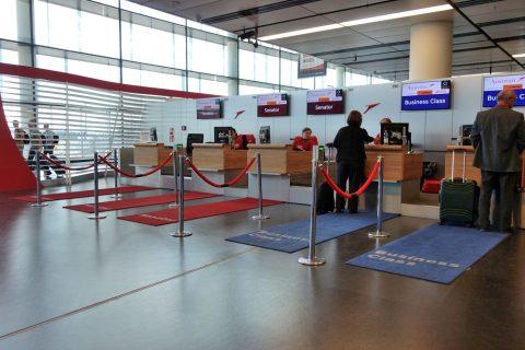 セネターチェックイン/ウィーン国際空港