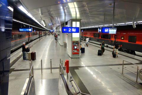 ウィーン国際空港列車駅