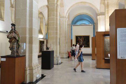 セビリア大聖堂の美術館