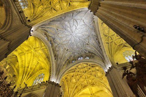 セビリア大聖堂の天井