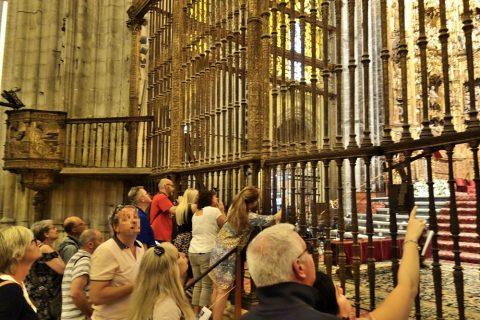 セビリア大聖堂/主祭壇の鉄格子