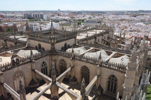 セビリア大聖堂の屋根