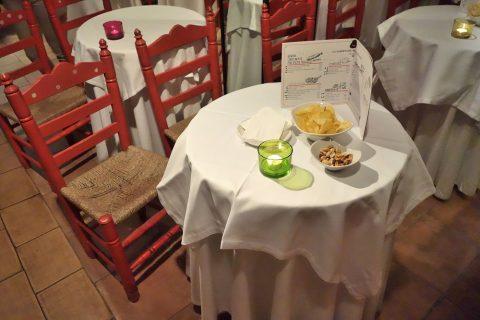 La-Taberna-de-Mister-Pinkleton/テーブルと座席
