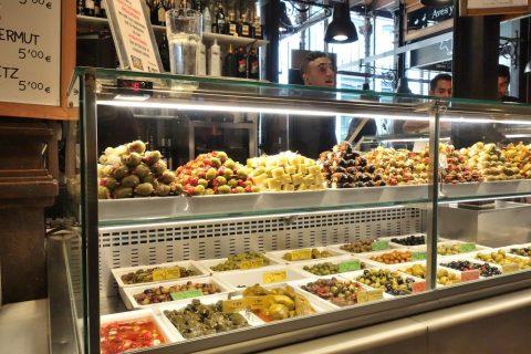 オリーブの店/サンミゲル市場