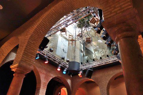 拭きぬけの天井/フラメンコ博物館