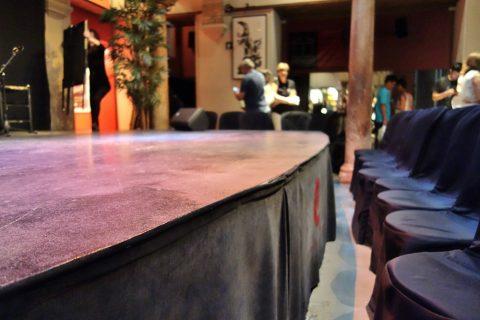 フラメンコのステージ/フラメンコ博物館