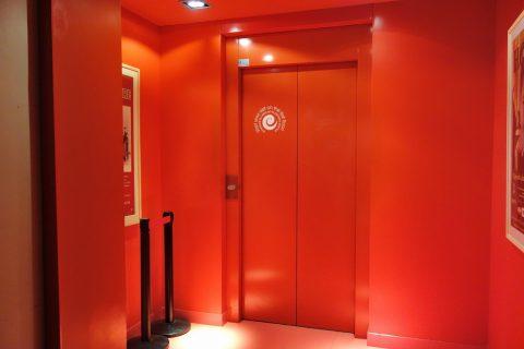 フラメンコ博物館のエレベーター
