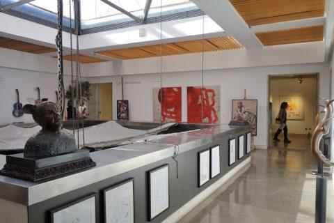 3階のギャラリー/フラメンコ博物館
