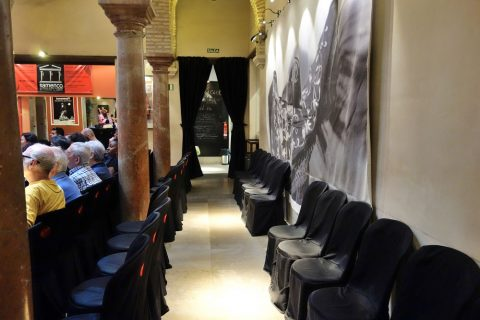 座席/フラメンコ博物館