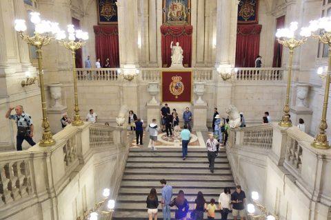 大階段/マドリード王宮