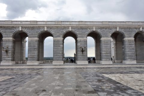 マドリード王宮の城壁