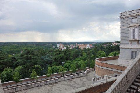 マドリード王宮からの眺望