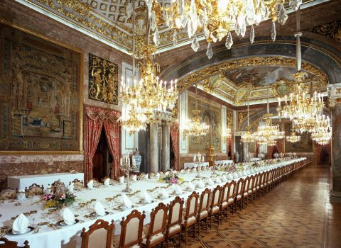 マドリード王宮の饗宴