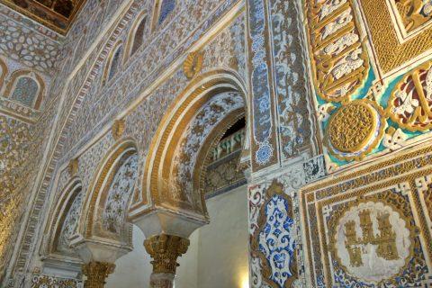 Real-Alcazar-de-Sevilla/壁面
