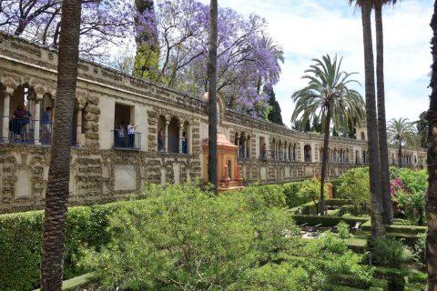Real-Alcazar-de-Sevilla/城壁