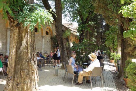 Real-Alcazar-de-Sevilla/カフェ