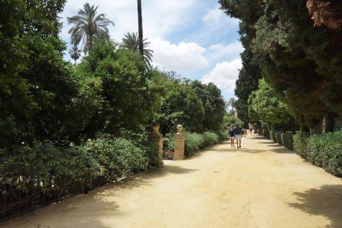 Real-Alcazar-de-Sevilla/園庭