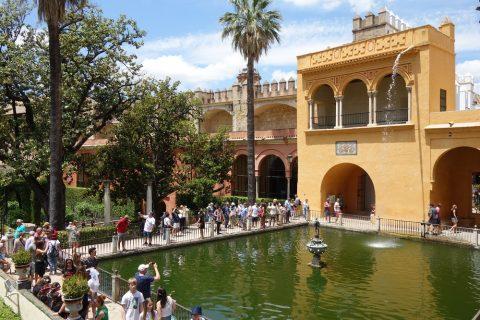 Real-Alcazar-de-Sevilla/マーキュリーの池