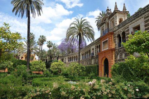 Real-Alcazar-de-Sevilla/城壁の門