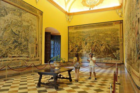 Real-Alcazar-de-Sevilla/絵画