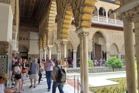 Real-Alcazar-de-Sevilla/ペドロ1世の宮殿
