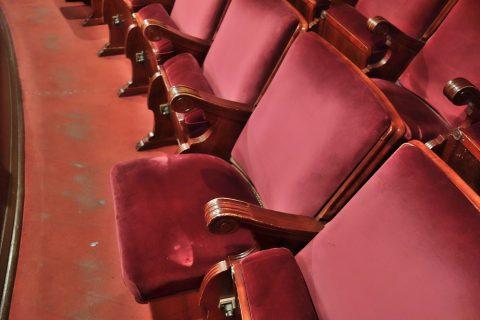 2階席のシート/サルスエラ国立劇場