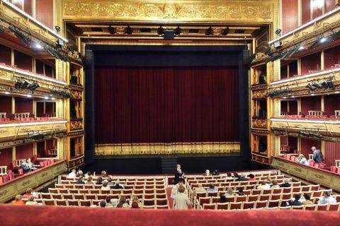 2階席の眺望/サルスエラ国立劇場