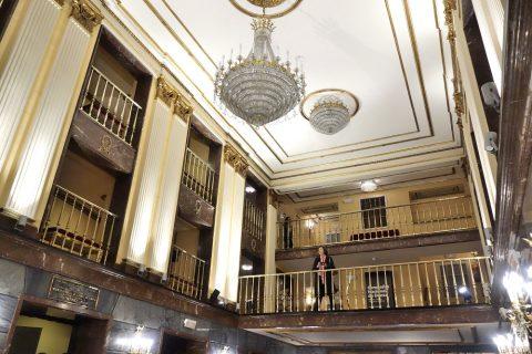 ホワイエの天井/サルスエラ国立劇場