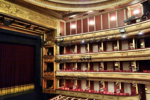 サイドのバルコニー/サルスエラ国立劇場