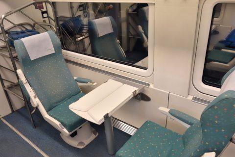 ALVIA/Preferenteの見合いシート
