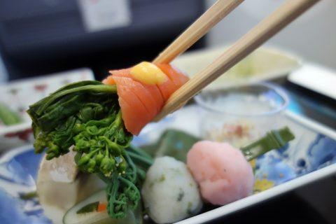 菜の花/ANAビジネスクラス機内食