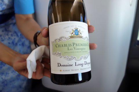 ANAビジネスクラスのスペシャルワイン