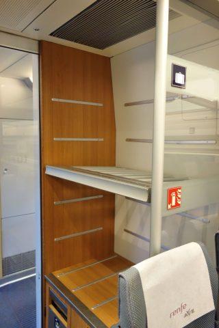 荷物棚/AVE2等車