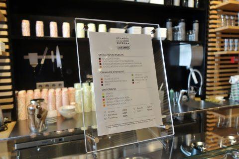 cacao-sampaka-madrid/アイスのフレーバーと価格