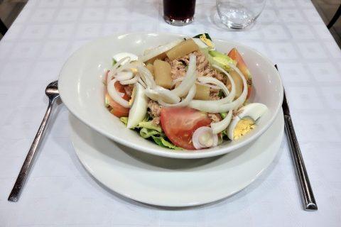 la-taurina-madrid/ハウスサラダ