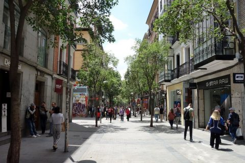 Fuencarral通り