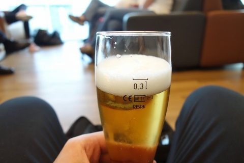lufthansa-business-lounge-munich/ドイツビール
