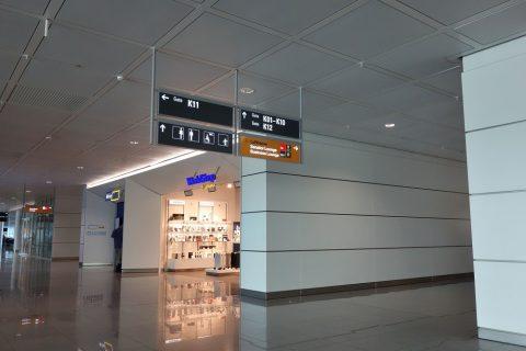 ミュンヘン空港ゲートK11付近