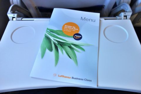 lufthansa-businessclass/メニュー