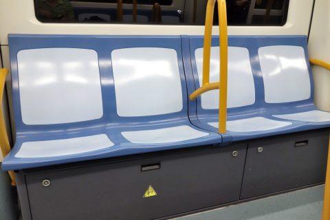 madrid-metro/座席