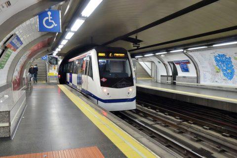 madrid-metroの運行時間